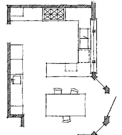 Important Kitchen Floor Plans Kitchen designs and patterns