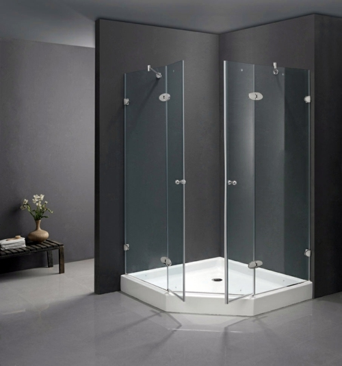Nonsense Design, Monochromatic Colors 25 Modern Glass Shower Cubicles    Have You Already Chosen Your?