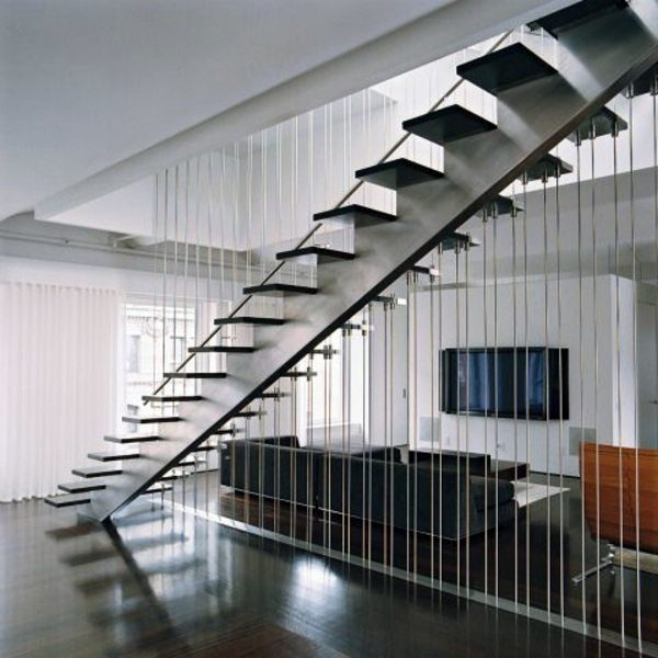 A modern staircase can completely transform your home interior metal building privacy a modern staircase can completely transform your home ppazfo