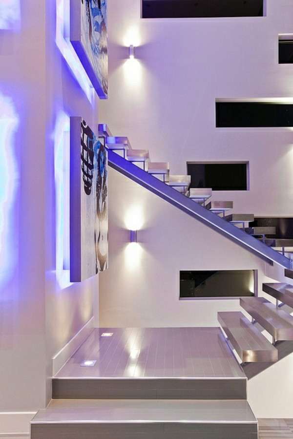 Lighting Basement Washroom Stairs: A Modern Staircase Can Completely Transform Your Home