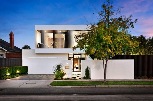 Modern house situated in the heart of melbourne australia