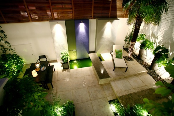 Balcony and garden lamps lighting modern cool ideas Interior