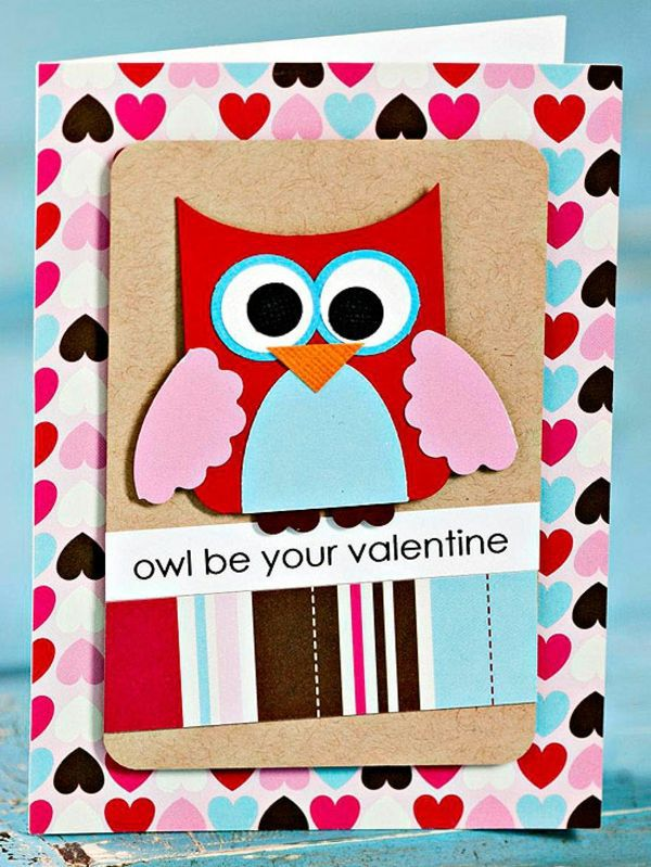 ... 32 Ideas For Handmade Valentineu0027s Day Card