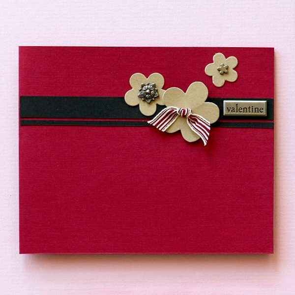 32 Ideas For Handmade Valentine S Day Card Interior