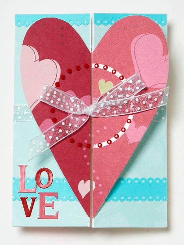 32 Ideas for Handmade Valentines Day Card – Handmade Valentine Day Card