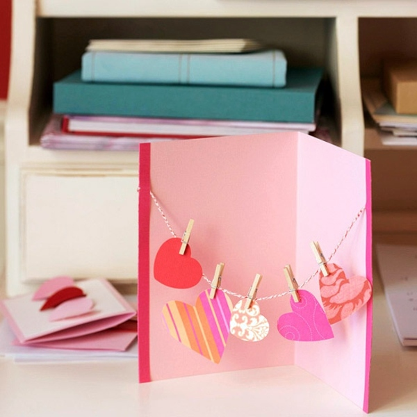 32 Ideas for Handmade Valentine\'s Day Card | Interior Design Ideas ...