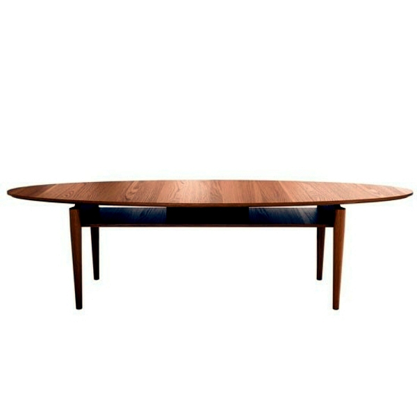 Large Oval Wood Coffee Table: Oval Coffee Tables Leave Your Living Room Look More
