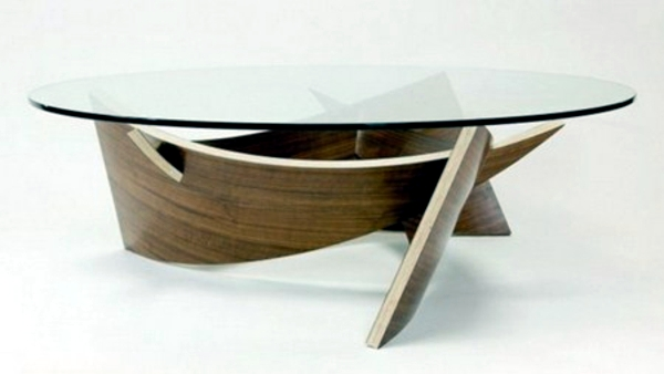 Möbel   Oval Coffee Tables Leave Your Living Room Look More Aesthetic