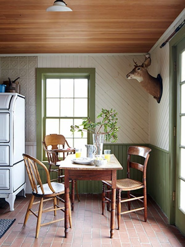 Dining room design pictures of dining room country for Country style dining room ideas