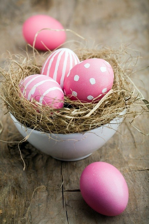Easter Decor in Pink and Purple tinker – 60 cool decorating ideas ...