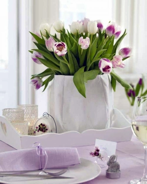 Easter Decor In Pink And Purple Tinker 60 Cool