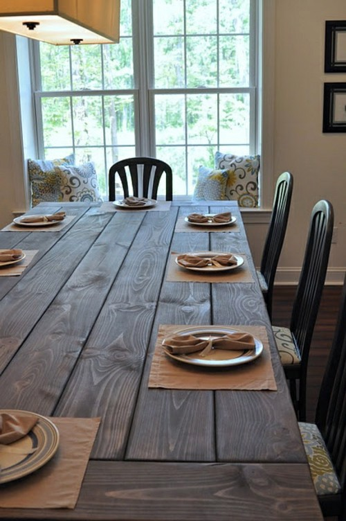 Rural And Minimalist At The Same Time Dining In A Country Style With Chairs  For Dining Room