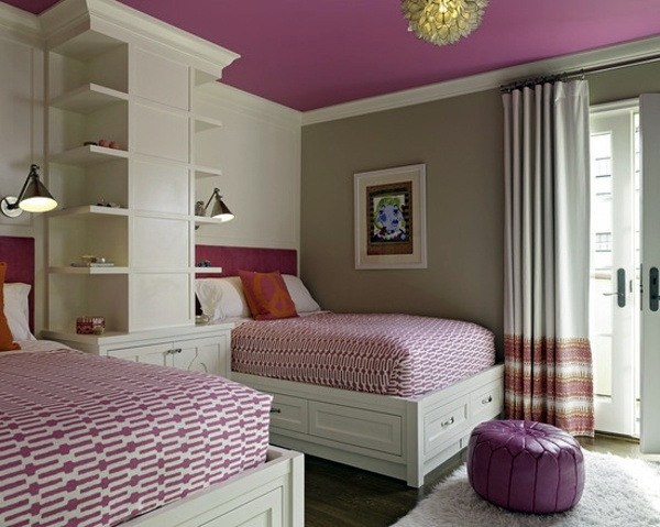 pink modern bedroom designs. Two Beds Bedroom Ideas For A Modern And Relaxing Room Design Pink Designs