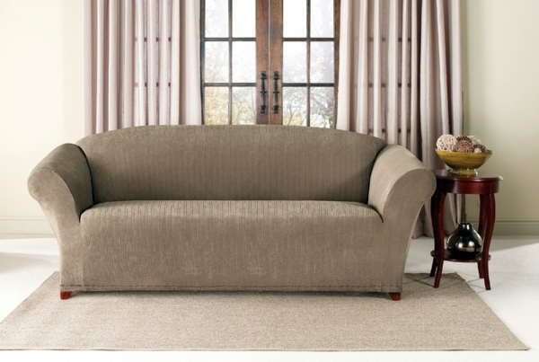 Stretch Cover For Sofa Traditional Bed And