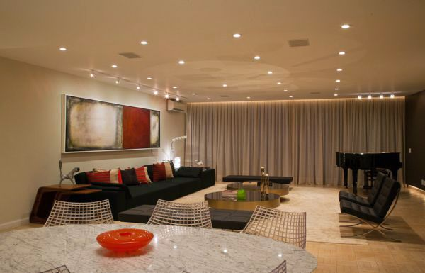 Send recessed lighting for modern interiors stylish and for Inviting interiors