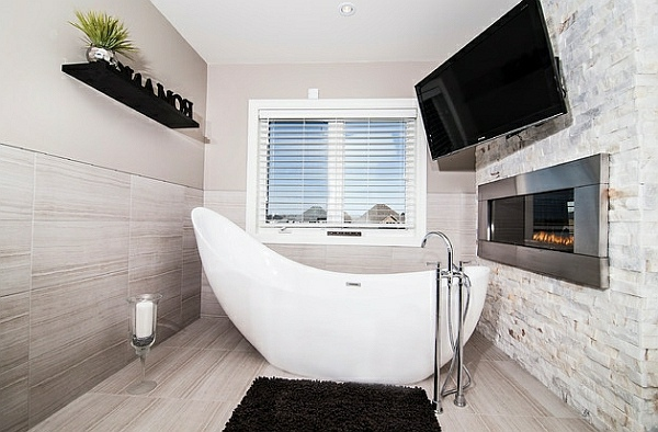 bathroom with freestanding bath | My Web Value