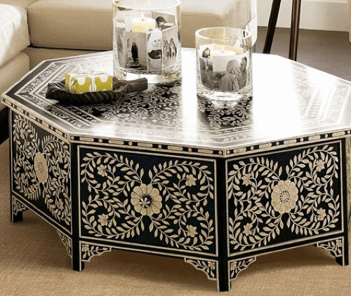 10 cool hand painted furniture designs artistic ability - Hand painted furniture ideas ...