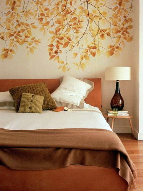 Bedroom wall design creative decorating ideas interior Bedroom wall designs in pakistan