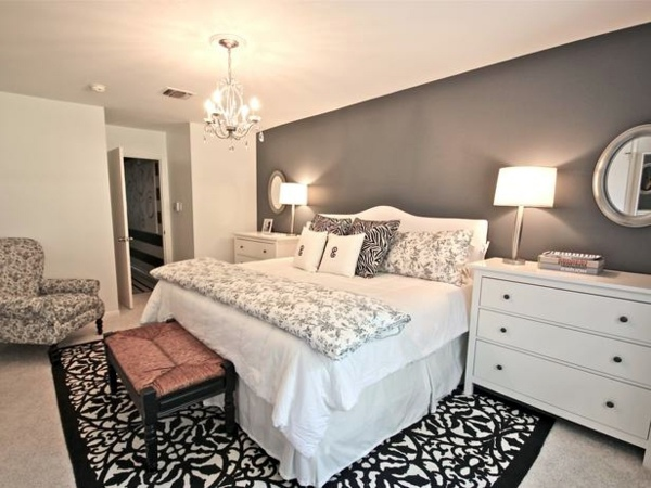 Elegant Design The bedroom set up low - 24 cool interior design ideas