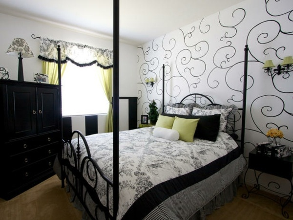 The bedroom set up low – 24 cool interior design ideas