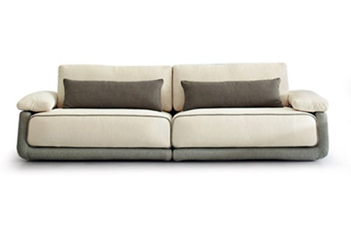 Monochromatic display Sofa by Calligaris Sofas - Cool Modern Sofa Designs -  unforgettable moments at home
