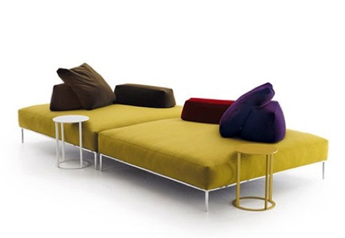 leather sofa design by cassina yellow sofa design by stefan borselius