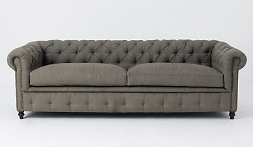 Charming Modern Sofa By Thackeray Via Anthropology Cool Modern Sofa Designs    Unforgettable Moments At Home