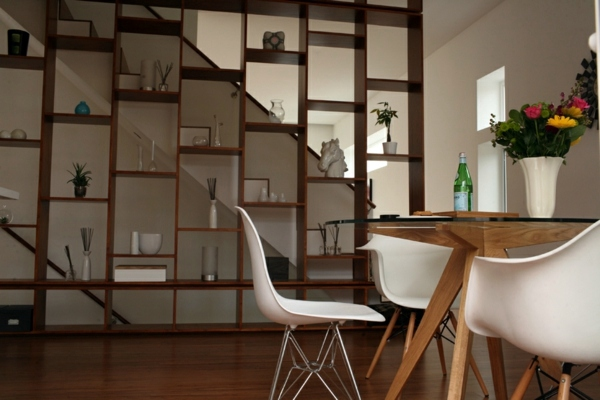 Dining Room Table With Chairs That Create A Modern Feel