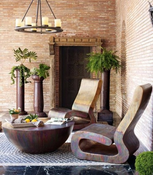 Gartenmöbel   Modern Cool Garden Furniture From Horchow For The Patio