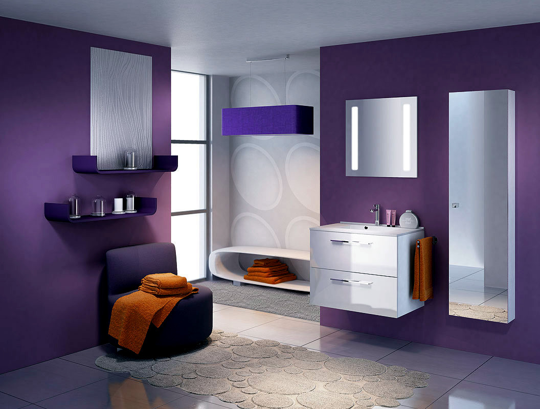 Bathroom Design Ideas Purple bathroom ideas purple
