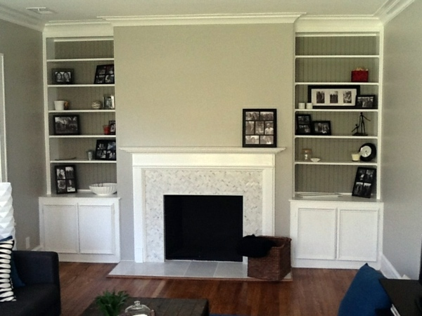 A Similar Model Without TV Great Ideas On How To Decorate The Fireplace