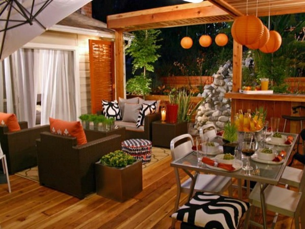 Modern terrace design – 100 images and creative ideas  Interior ...