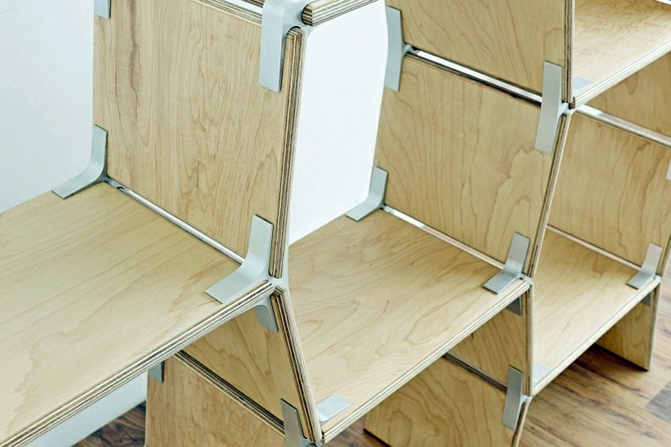 Bon Furniture Innovative System Of Modo Modern Designer Furniture, Can Be  Constructed Without Tools Design ...