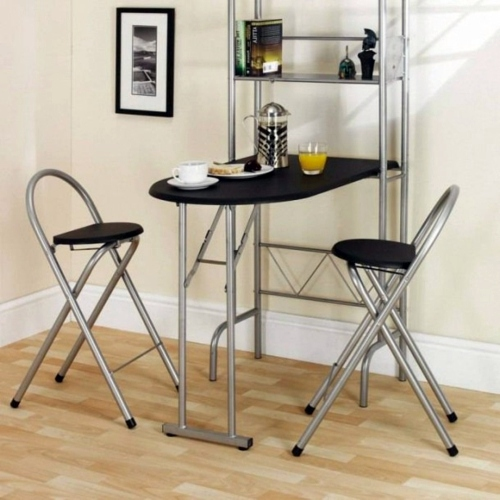 10 Useful Ideas For A Folding Table In The Kitchen Area