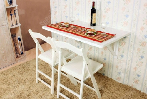 10 useful ideas for a folding table in the kitchen area | interior
