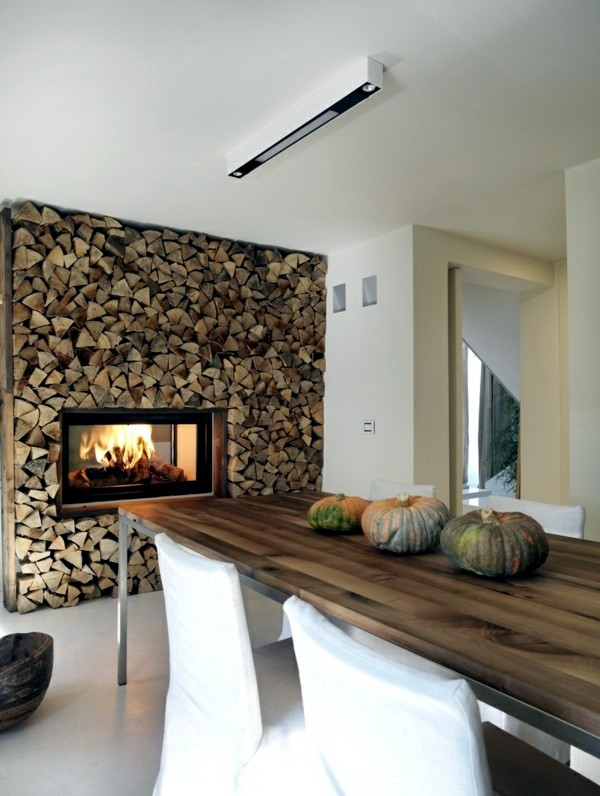 kchen cosy ambience with kitchen fireplace - Kitchen Fireplace