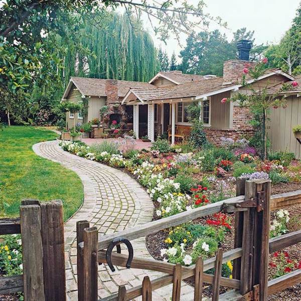 Attractive Gateway Curve Gartengestaltung   Front Garden Design Ideas   Creative Design  Ideas For Your Exterior