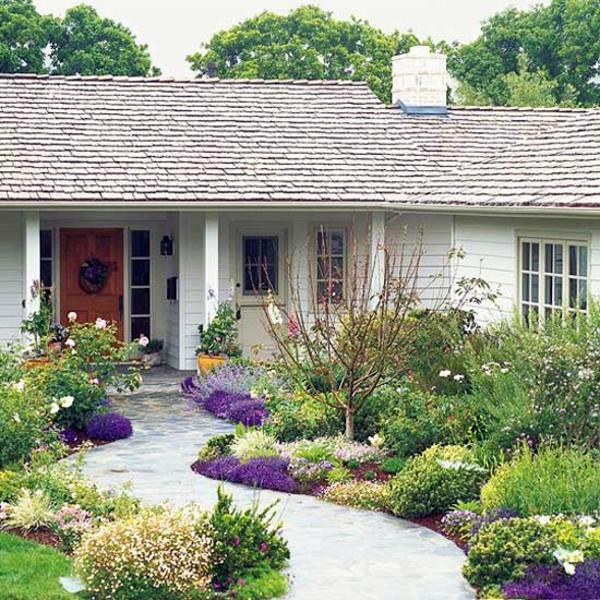 Front Entrance Garden Design Ideas: Creative Design Ideas For Your
