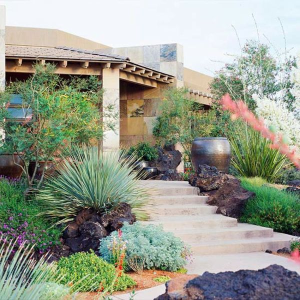 Front garden design ideas creative design ideas for your for Natural landscaping ideas front yard