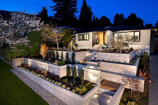 Garden On Different Levels Front Garden Design Ideas Creative Design Ideas For Your Exterior