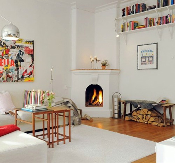 ... 35 Ideas for scandinavian fireplaces