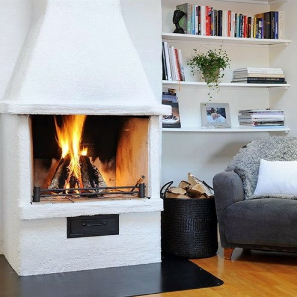 35 Ideas For Scandinavian Fireplaces Interior Design
