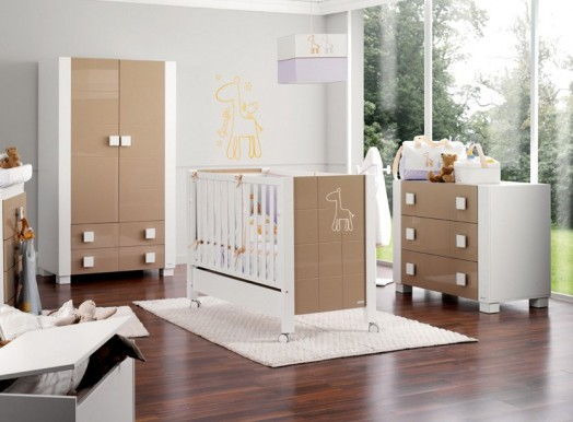 Baby room design great for modern baby crib Africa by Micuna