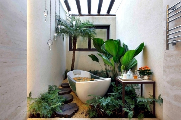 Captivating Badeinrichtung   Plants In The Bathroom   The Best Suggestions For You