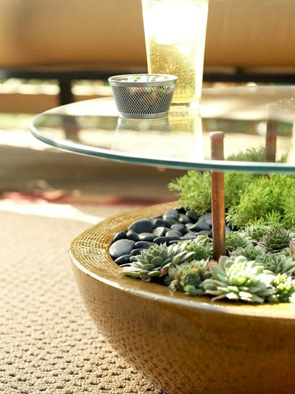 DIY Möbel - Garden table build yourself - Put some creativity and a craft!
