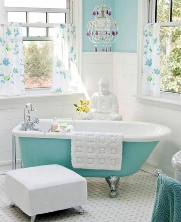 Light Aqua Bathroom