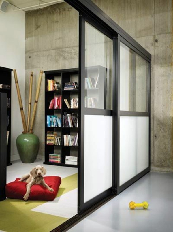 Sliding doors as room dividers u2013 more privacy in the small apartment : Interior Design Ideas ...
