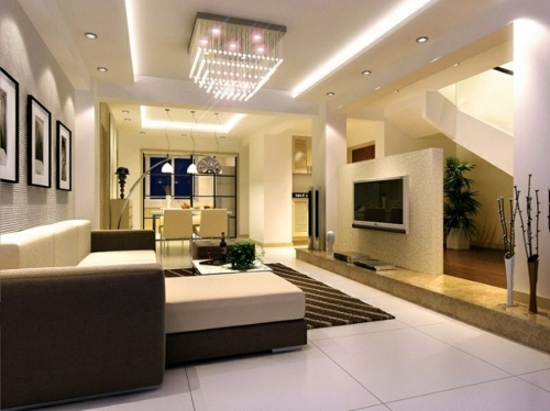 33 great decorating ideas for ceiling design in living room ...