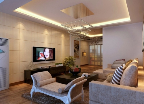 33 great decorating ideas for ceiling design in living for Interior design living room kenya