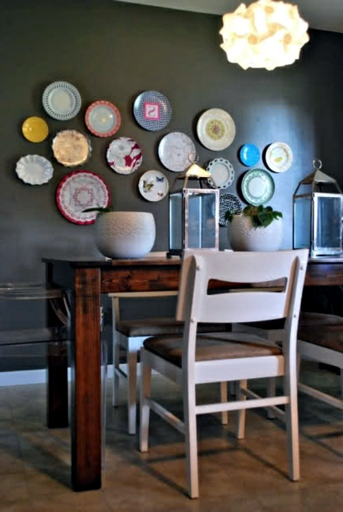 Decorative wall plate u2013 great wall decoration in the kitchen : decorating kitchen walls with plates - pezcame.com